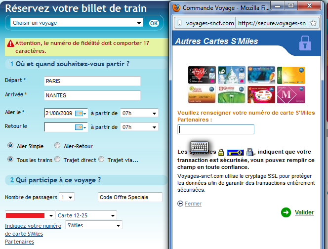 Voyages SNCF New
